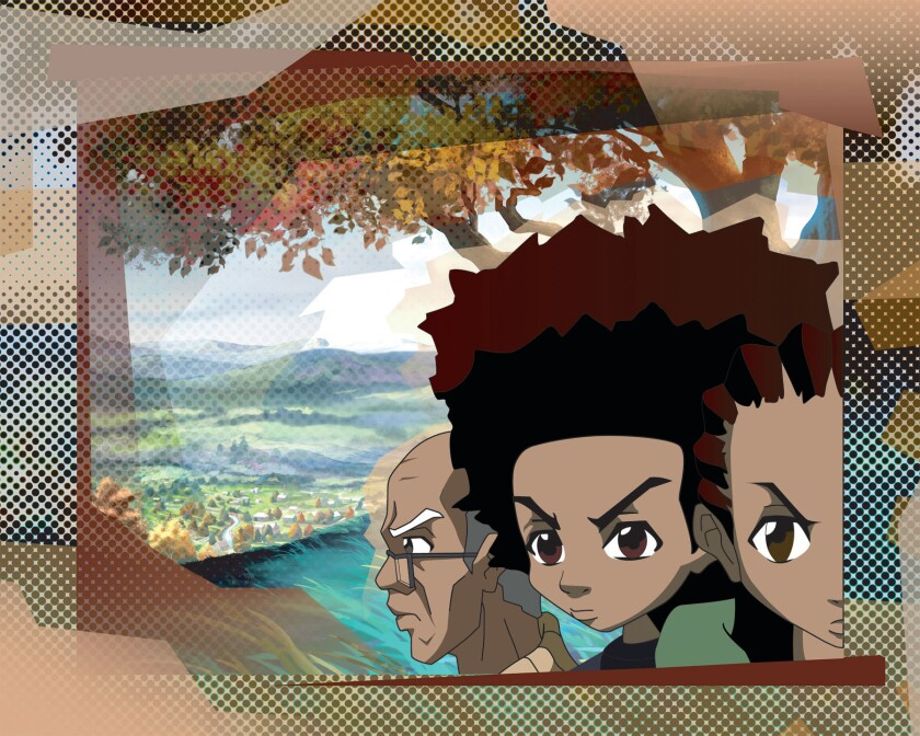 Aaron McGruder bids emotional farewell to 'The Boondocks'
