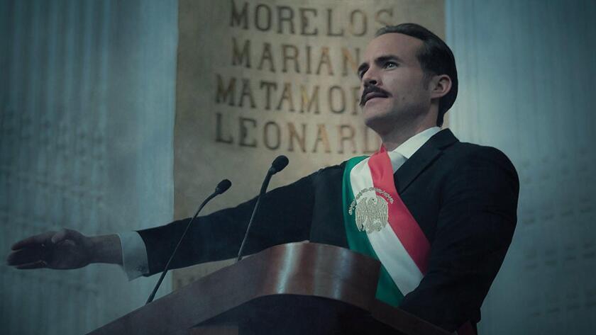 Erik Hayser es Carmelo Alvarado, El Presidente de México en Preso No1