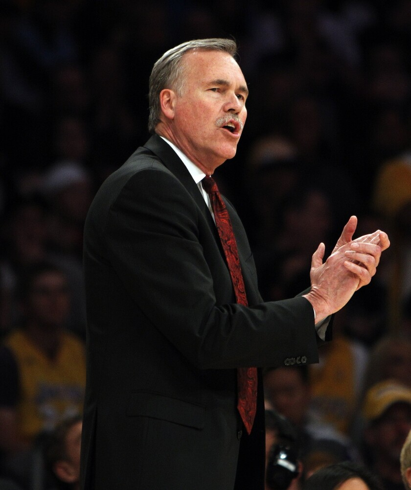Mike D'Antoni named coach of the month in the West