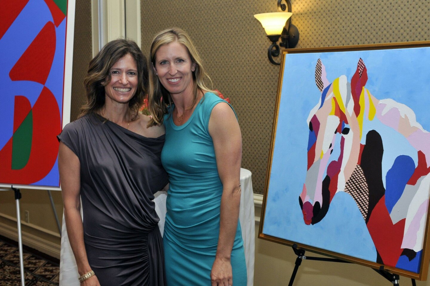 A Creative Affair event co-chairs Sarah Griffin and Paige Pennock