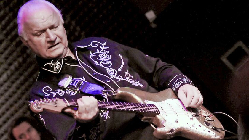 Surf guitar originator Dick Dale performs this week at Joe's Great American in Burbank. (Courtesy o