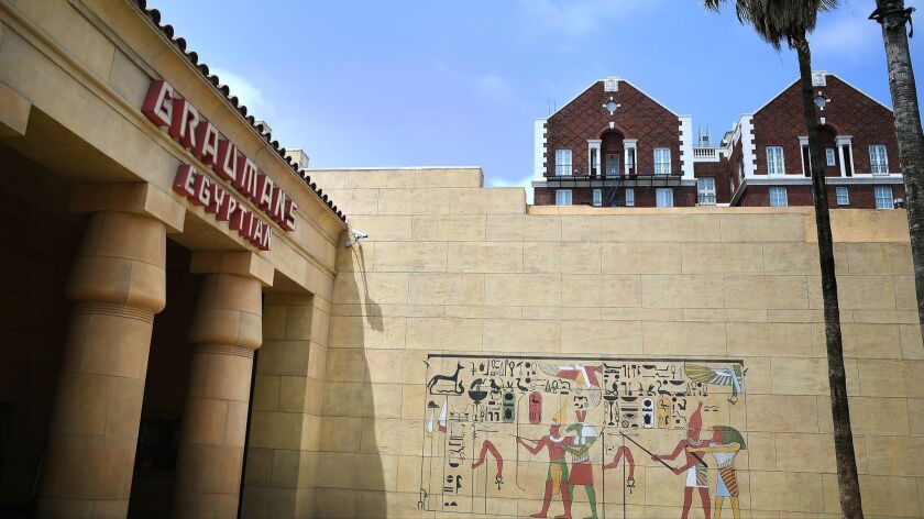 The Egyptian Theater in Hollywood will be the venue for this year's Cinecon 54 Classic Film Festival.