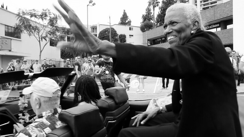 """Jewel Thais-Williams, grand marshal of L.A. Pride 2016, is shown in the documentary """"Jewel's Catch One."""""""