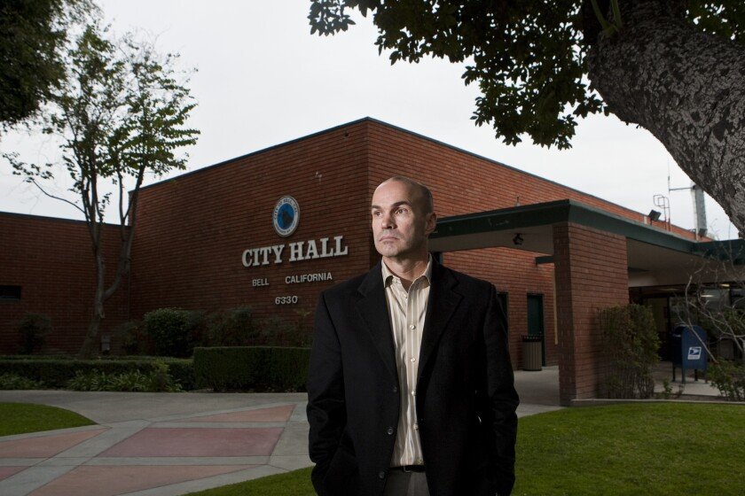 Bell city manager Doug Willmore
