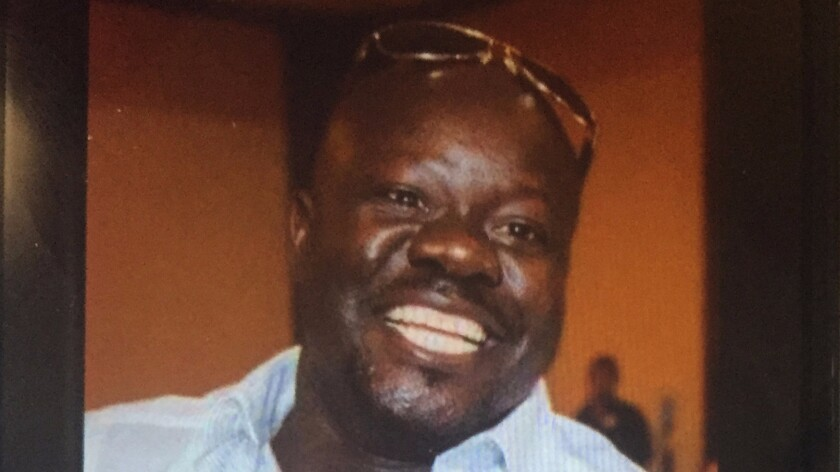 Alfred Olango, 38, was shot and killed during a confrontation with police in El Cajon.