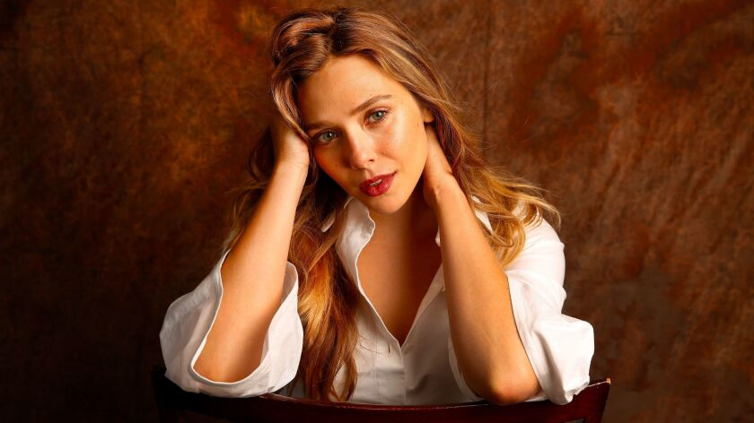 "LOS ANGELES, CA - JULY 12, 2017 - Actress Elizabeth ""Lizzie"" Olsen photographed in Los Angeles July"