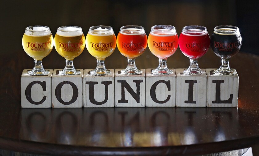 Council Brewing. (Nancee Lewis)