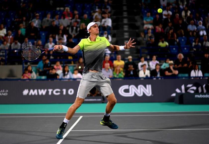 En la siguiente semifinal, Anderson, cabeza de serie número 1, derrotó al japonés Kei Nishikori, quinto cabeza de serie, por 6-1, 3-6 y 7-6 (4). EFE/Archivo