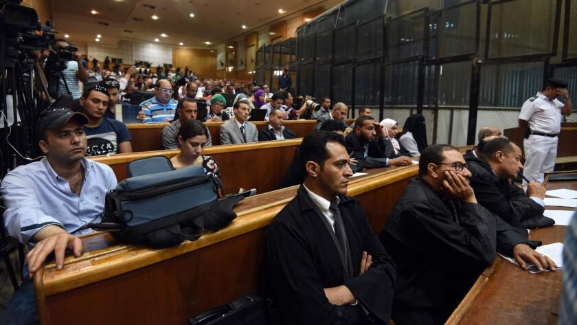 Egypt trial