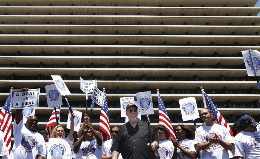 DWP union rally
