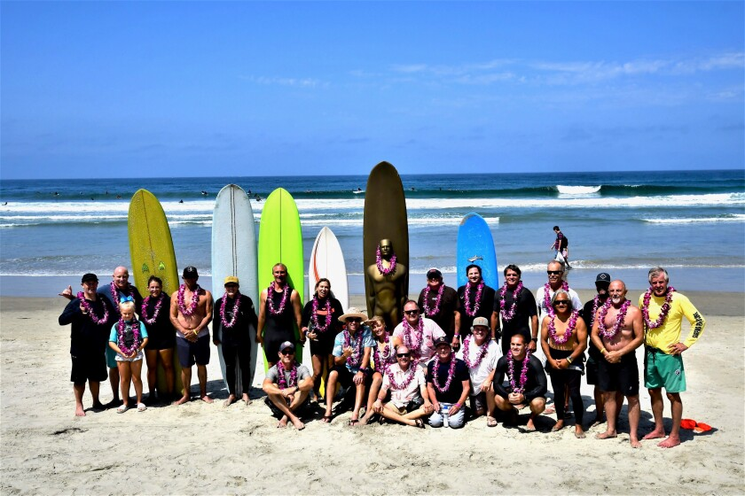 """The """"Legends of Surfing"""" at the 2021 Luau and Legends of Surfing Invitational"""