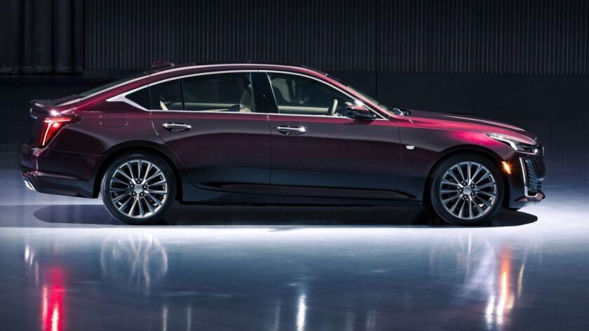 The CT5 Premium Luxury showcases Cadillac's unique expertise in crafting American performance seda