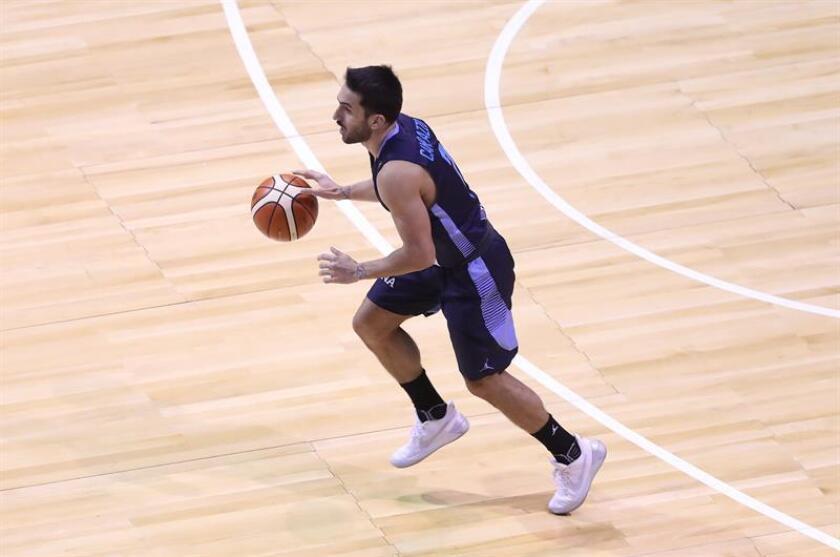 Facundo Campazzo, jugador de la selección Argentina de baloncesto. EFE/Archivo