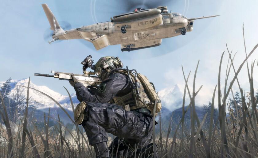 "An image from ""Call of Duty: Modern Warfare 2."""