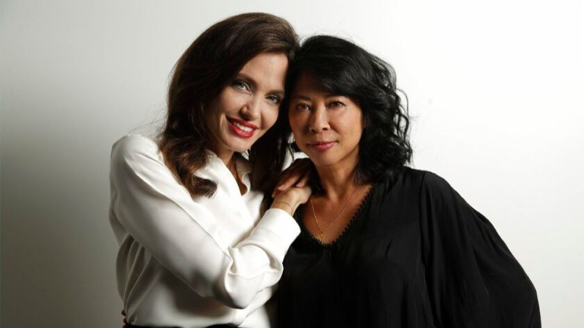 Angelina Jolie and Loung Ung's 'First They Killed My Father ...