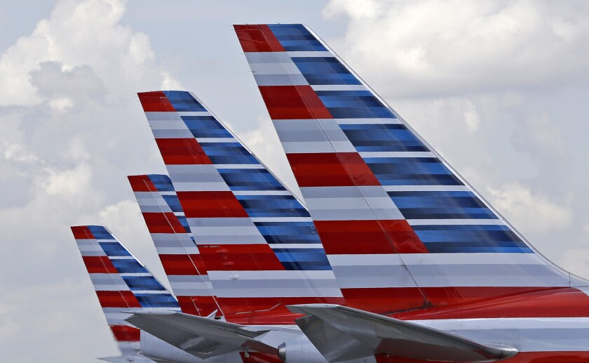 The inaugural American Airlines-operated weekly nonstop flight to Cuba was scheduled to depart Saturday afternoon.