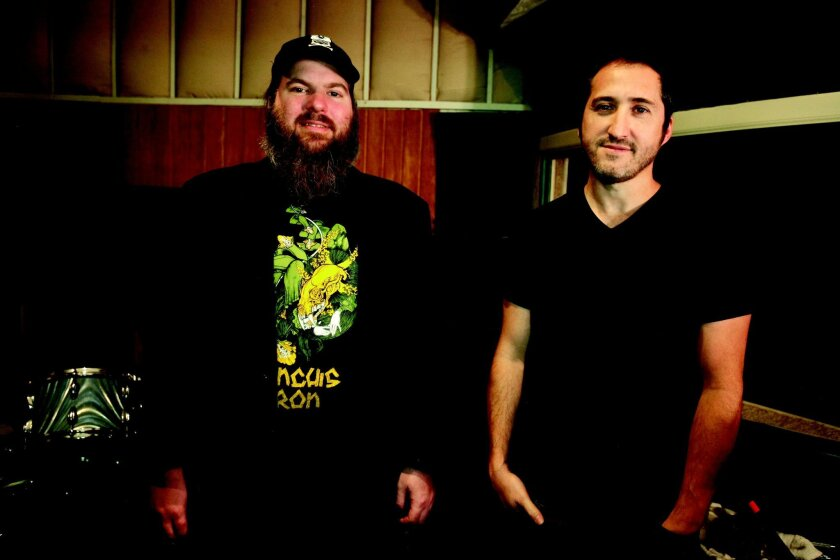 Pinback is Rob Crow (left) and Armistead Burwell Smith IV, also known as Zach Smith. David Brooks • U-T