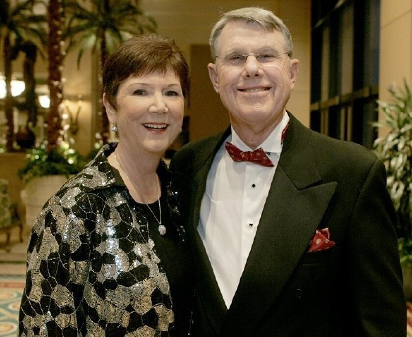 Linda and Bronson Jacoway Jr. at the fourth annual Diamond in the Rough Gala.