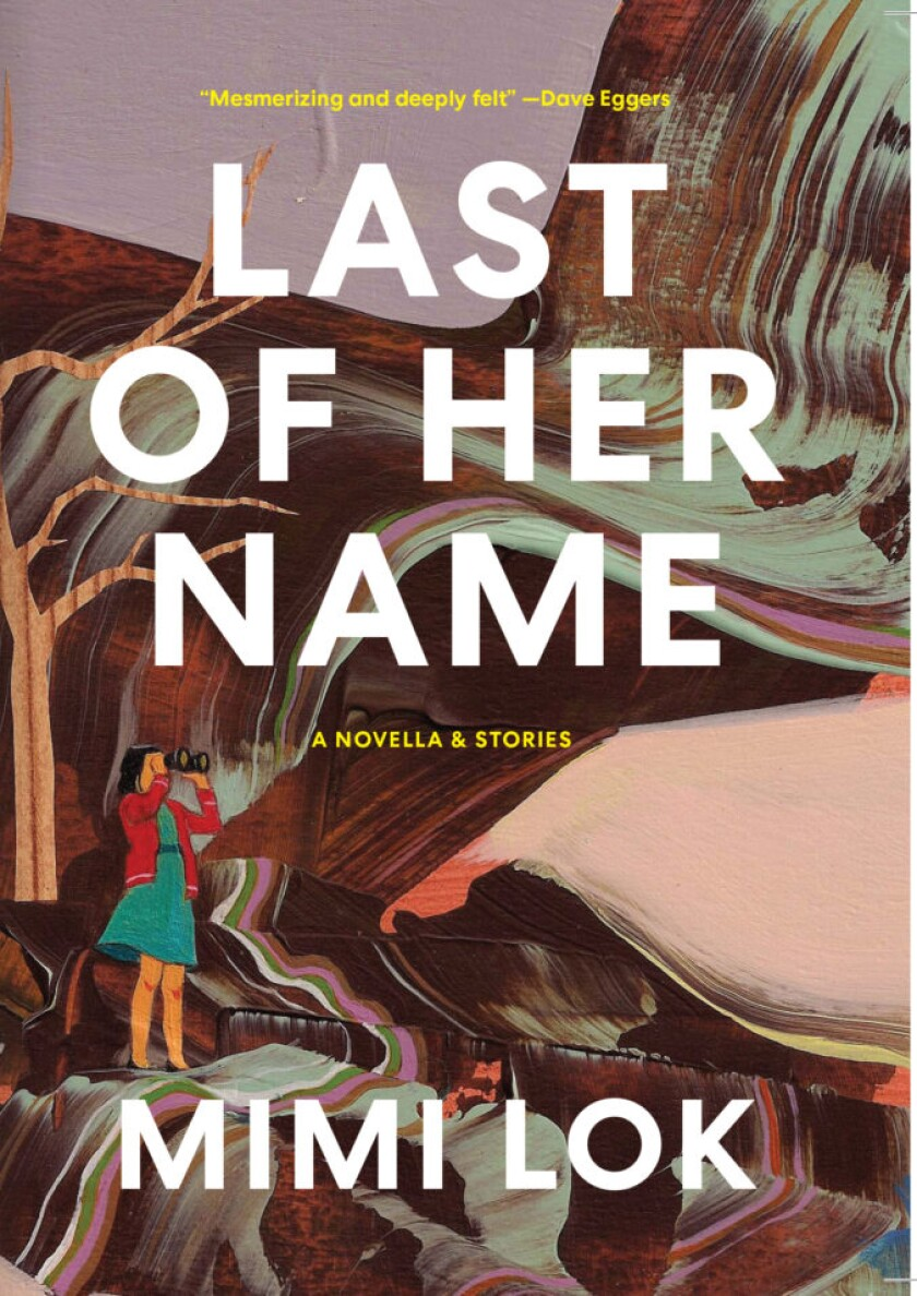 "Cover of ""Last of Her Name"" by Mimi Lok."