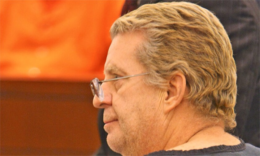 "IN COURT: ""I am not a bad person. I am a good person,"" Douglas Hoffman said."
