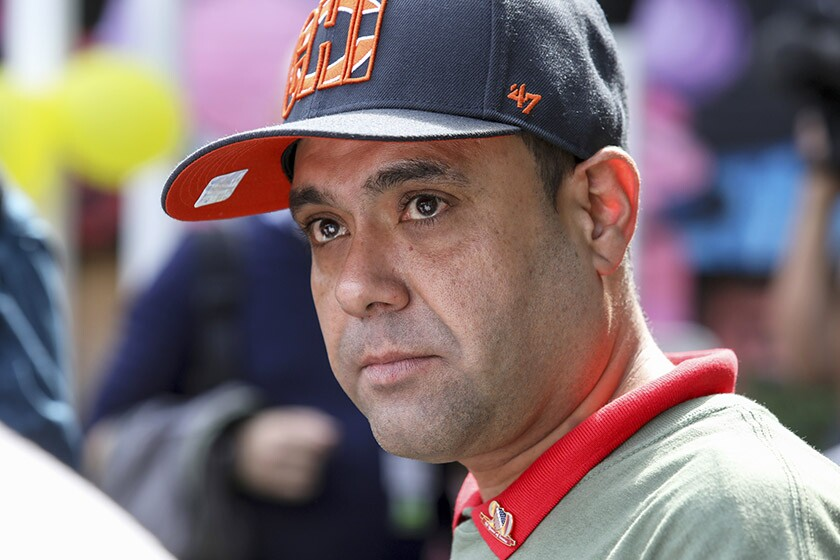 Miguel Perez Jr., 41, is among several deported military members who have been recently pardoned by Democratic governors.