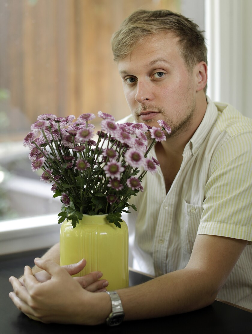 "SILVER LAKE, CA -- JUNE 04, 2019: John Early the ""Search Party"" actor and comedian brings funny insi"