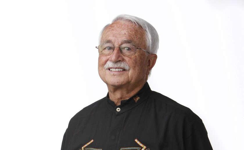 Joaquin Anguera, a retired professor of gerontology from San Diego State University, is the coordinator of this year's Coming of Age Film Festival at the Museum of Photographic Arts at Balboa Park.