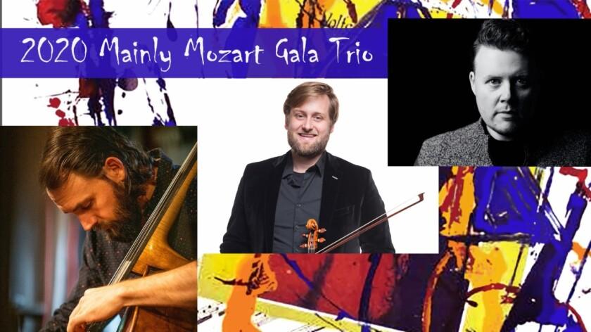 2020 Mainly Mozart Gala Trio