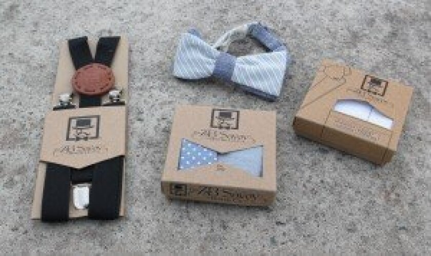 La Jolla-based ZB Savoy Bowtie Co. also produces neckties, suspenders and pocket squares.