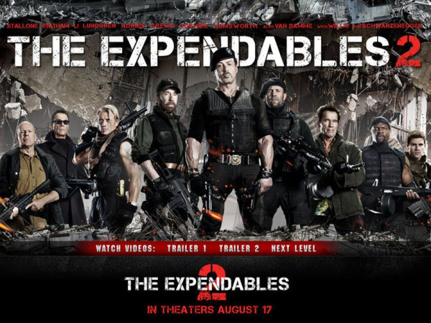 """Lionsgate and Millenium Films have begun filming """"The Expandables 3"""" in Bulgaria."""