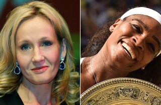 J.K. Rowling grand-slams Serena Williams Twitter troll