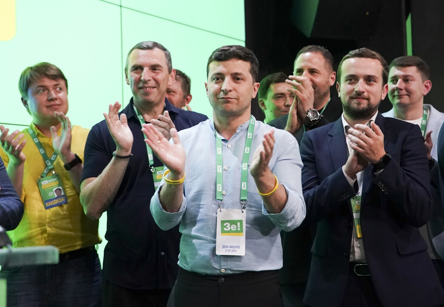 Ukraine president's party gets solid parliament majority