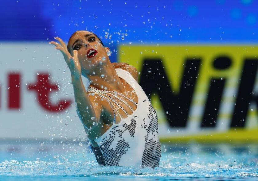 Ona Carbonell, plata en solo técnico, se cuelga su 21 medalla mundialista