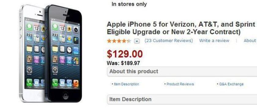 Wal-Mart iPhone 5