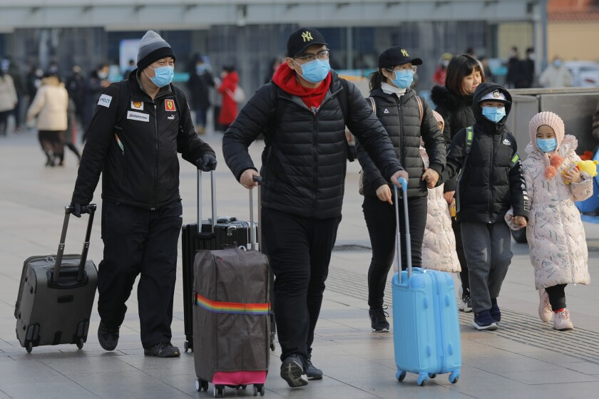 China struggles to contain coronavirus outbreak, Beijing - 24 Jan 2020