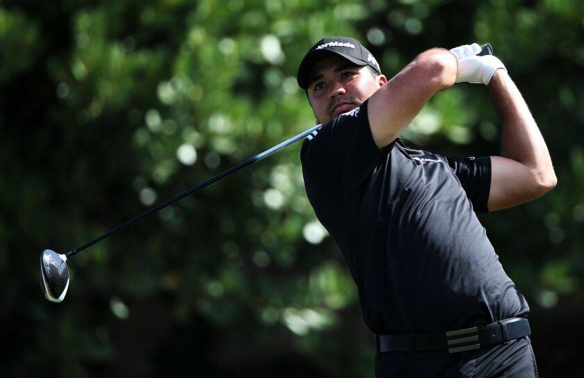 Jason Day plays at the Hyundai Tournament of Champions in Lahaina, Hawaii, on Jan. 10.