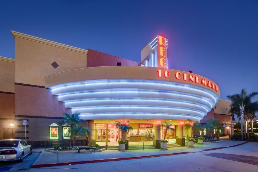 The Regal 16-screen multiplex in Chula Vista is one of Realty Income's theater holdings.