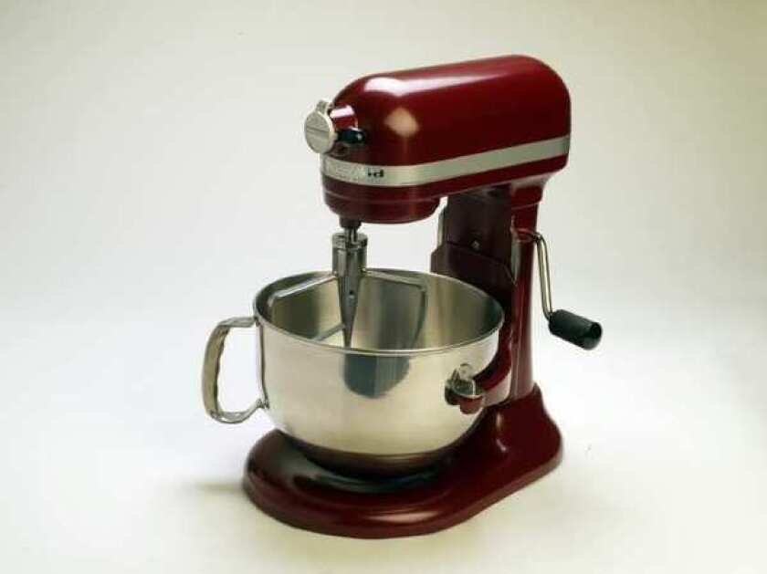 A KitchenAid mixer. The company is in hot water after sending an offensive tweet during the presidential debate.