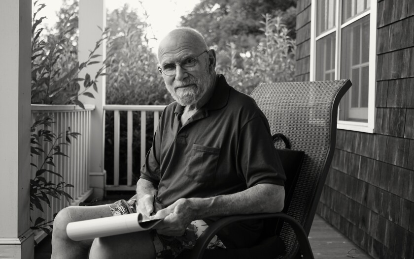 """Oliver Sacks, from the documentary """"Oliver Sacks: His Own Life."""""""