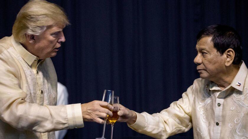 Donald Trump, Rodrigo Duterte