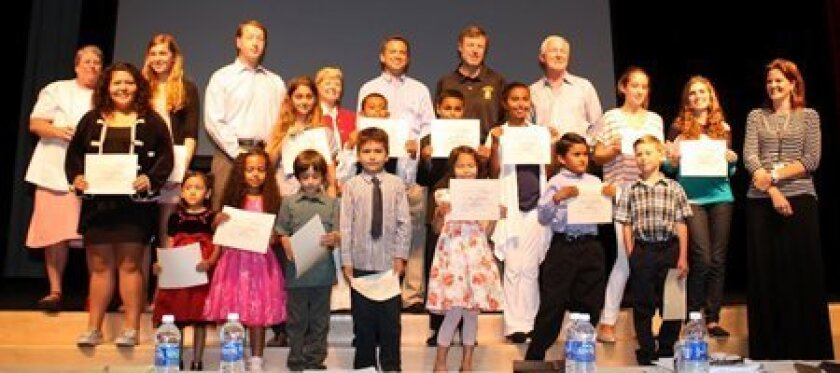 RSF School students were honored June 7 for perfect attendance.