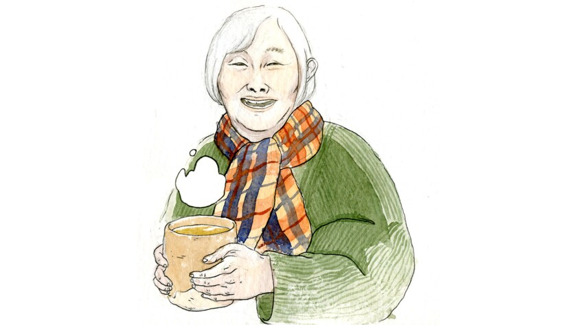 """""""Shadow Life,"""" an upcoming graphic novel from Hiromi Goto with art by Celine Loup, focuses on an elderly Japanese Candian woman running from death."""