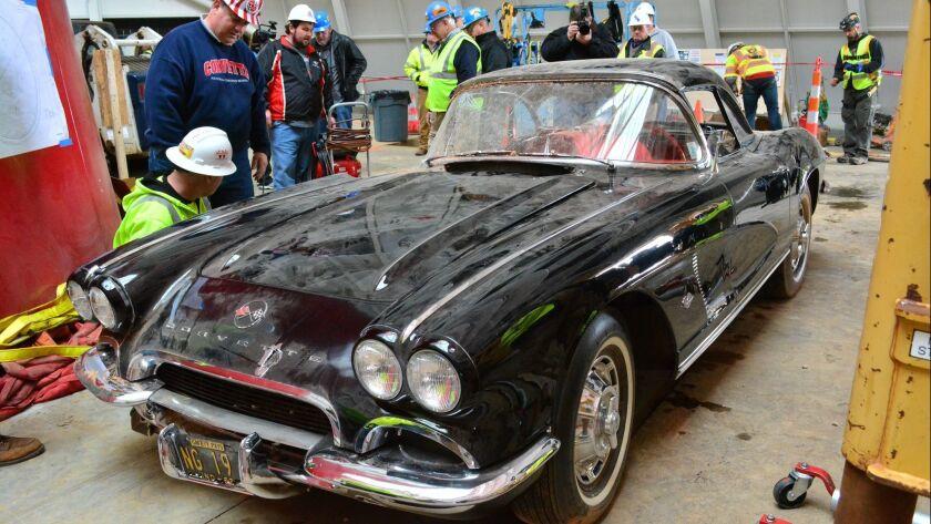 National Corvette Museum fetes final restored