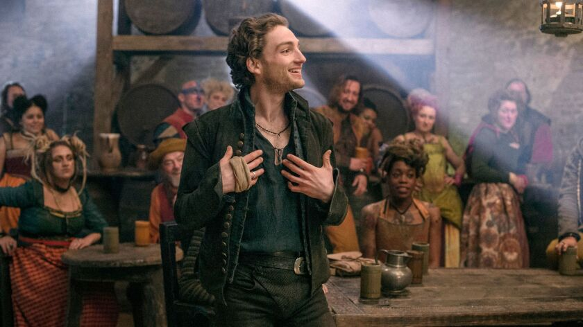 """Laurie Davidson plays a young William Shakespeare in the new TNT drama """"Will."""""""