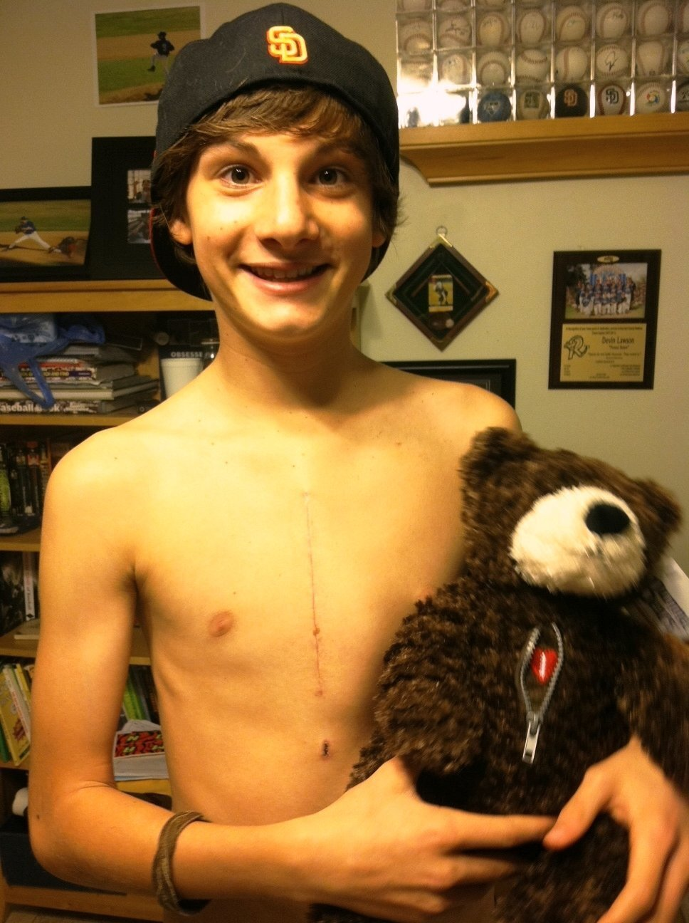 One boy's legacy: free teen heart screenings to save lives from