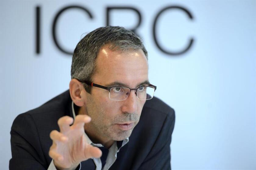 """Dominik Stillhart, director de operaciones del Comité Internacional de la Cruz Roja (CICR) considera que Venezuela vive una """"situación socioeconómica muy difícil"""" y está pendiente de cómo evoluciona la crisis para ayudar en lo posible. EFE/ARCHIVO"""