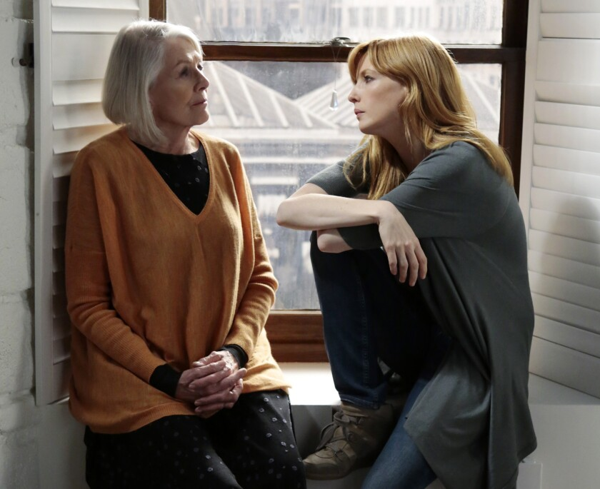 """Vanessa Redgrave, left, and Kelly Reilly star in """"Black Box."""""""