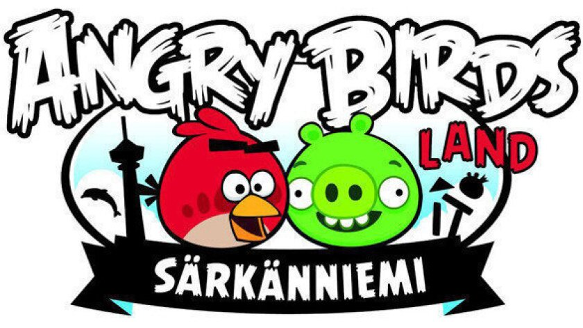 Angry Birds Land at Sarkanniemi Adventure Park in Finland.