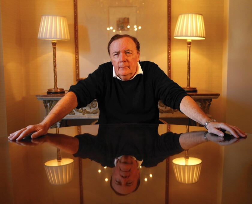 Author James Patterson at the Peninsula Hotel in Beverly Hills.