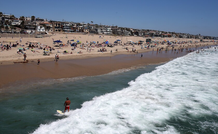 Manhattan Beach Says It Has Two Reported Coronavirus Cases Los Angeles Times